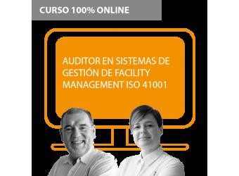 Curso + Certificación: Auditor en Sistemas de Gestión de Facility Management ISO 41001
