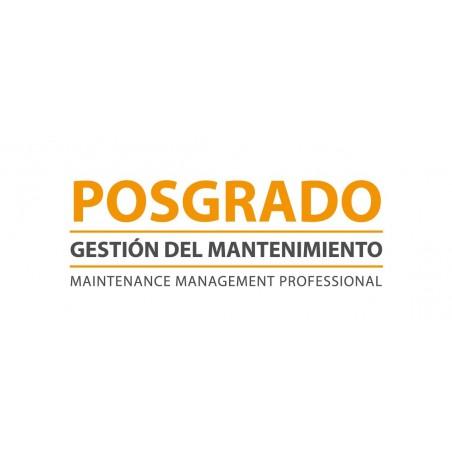 Especialista Profesional Universitario en Gestión del Mantenimiento