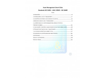 "Asset Management Smart Cities ""Standards ISO 55001 - UNE 178104 - ISO 18480"""