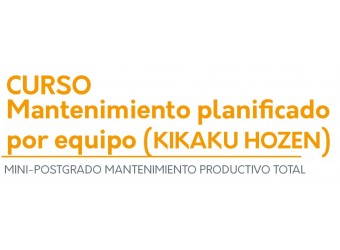 Mantenimiento planificado, por equipo (KIKAKU HOZEN)